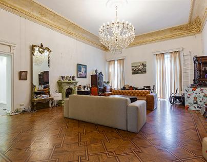 Kingdom. Private apartment interior design
