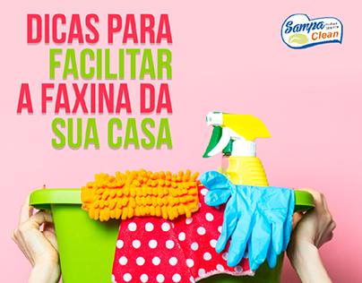 SAMPA CLEAN | Posts para Instagram