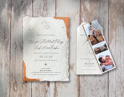 WEDDING INVITATIONS | J&P