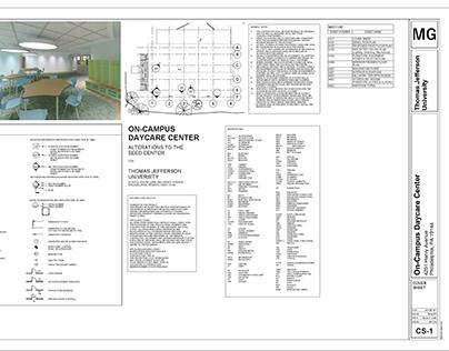 DAYCARE CONSTRUCTION DOCUMENTS: VISUALIZATION 4