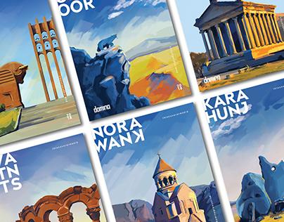 Discover Armenia with #thiscoverarmenia