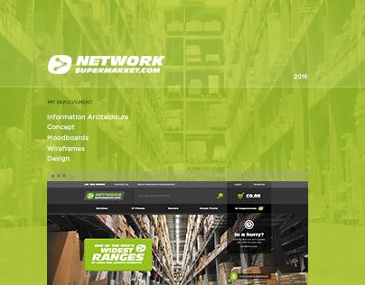 Network Supermarket - Website Design