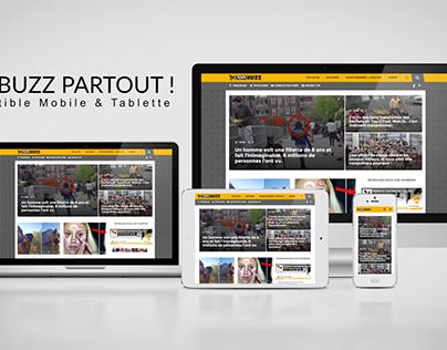 Topibuzz - Motion Design - Web Presentation