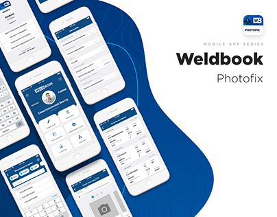 Weldbook Photofix - Design Mobile App