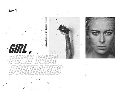 Advertising & UI-UX design | Nike Running App
