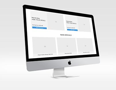 E Commerce Website Wireframe