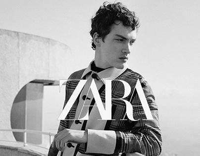 Redesign of Zara Website | FASHION STORE