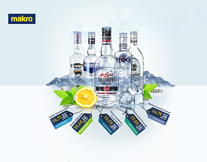 MAKRO Newsletter / Vodka promotion / Mailing