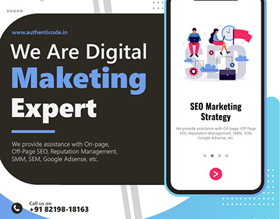 AuthentiCode (Digital Marketing banner)