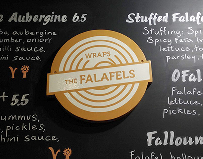 O'Falafel Display