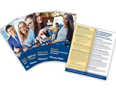 Florence Bank Service Brochures