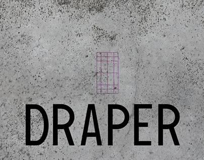 Draper Typeface