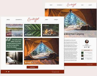 Scarlett Jill Digital Magazine Website