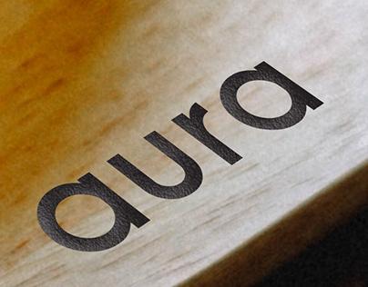 aura - restaurant branding