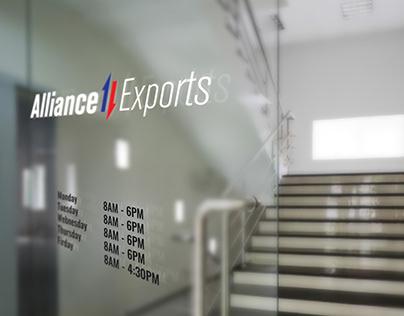 Logo de Alliance Exports