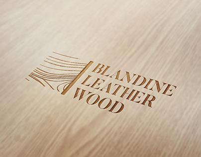 Blandine Leather Wood