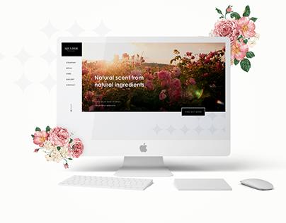 Fragrance Company Landing Page