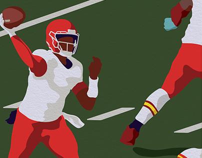 Sports Illustration - Greatness Series