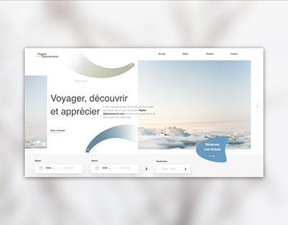 Travel Agency UI Design