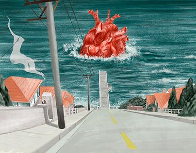 Digital Paintings (Scenarios)