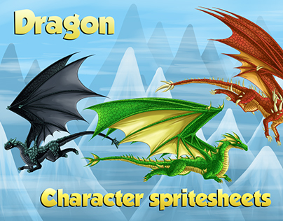 Dragon Animation Set