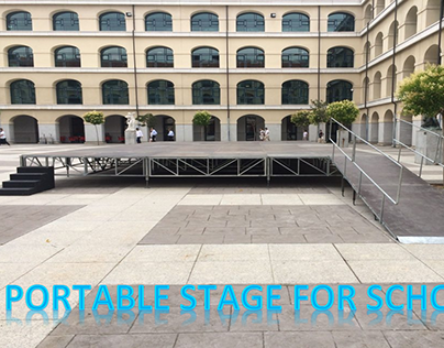 Manufacturers Of Portable Staging For Schools