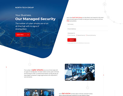 North Tech Group - Custom website design