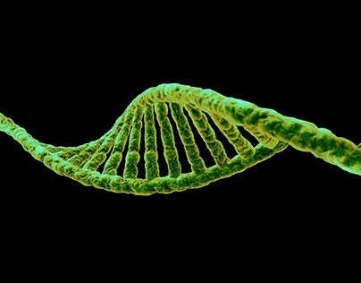 Photorealistic DNA for genetic research center