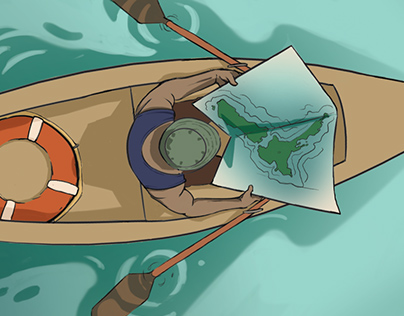 Editorial Illustration: Deep Sea Environmental Report