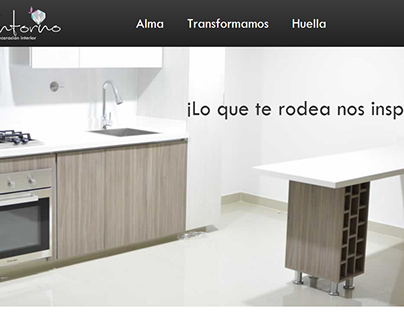 Sitio Web: Entorno Decoración