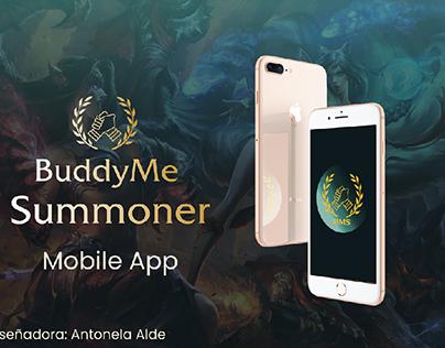 BuddyMe Summoner proyecto UX/UI