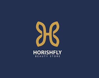 Beauty Store 'HORISHFLY' | Logo Design