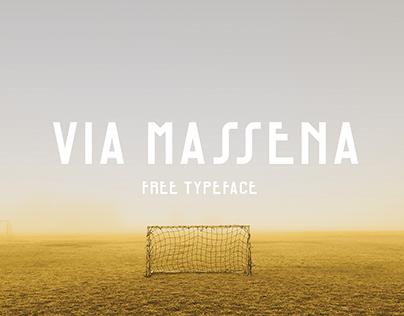 Via Massena - FREE Typeface