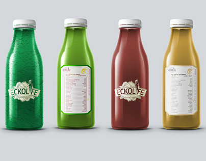 Eckolife Branding and Labeling design