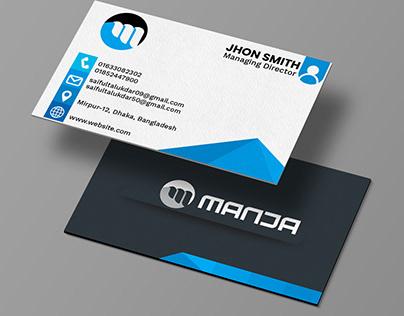 Corporate Visiting card design