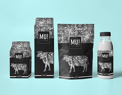 Premium Milk Packaging Design