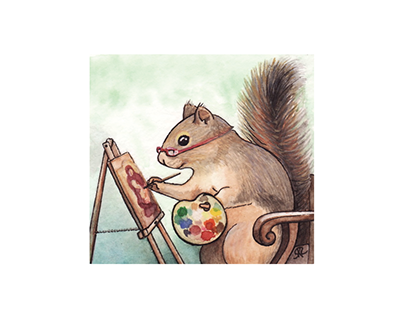 Portrait of Susan as a Squirrel