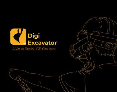 DigiExcavator - A virtual Reality JCB Simulator