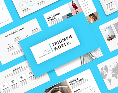 The Triumph World - Minimal PowerPoint Template