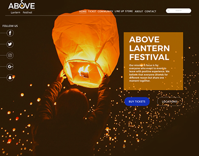 Above Lantern Festival