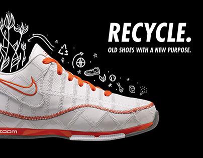 Nike ReUse-A-Shoe Mailer