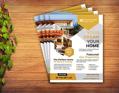 Realestate Flyer Design