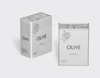 Olive Can Mockups