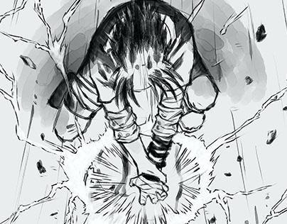 Chidori - Naruto redraw