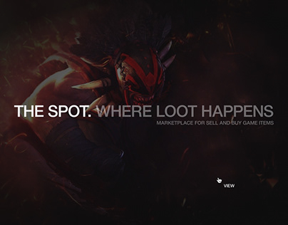 Lootspot. Marketplace for sell and buy game items