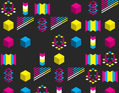 CMYK Patterns I