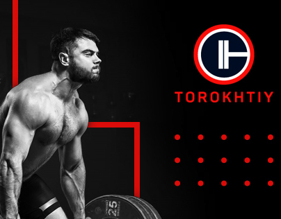 Landing page for the olympic champion Aleksey Torokhtiy