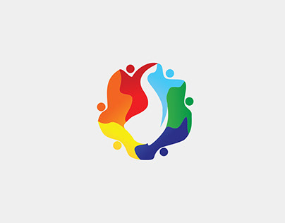 GANAS 2018 - Event Community Logo with many Colors