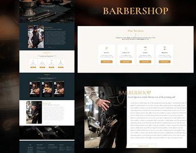 Barbershop UI Design