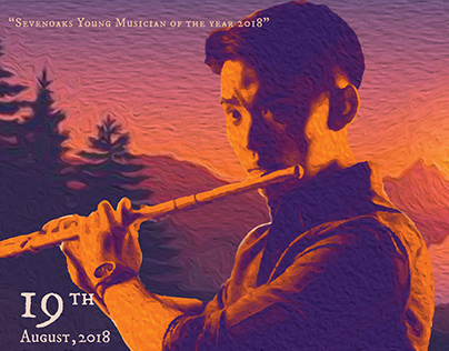 Flautastique Poster